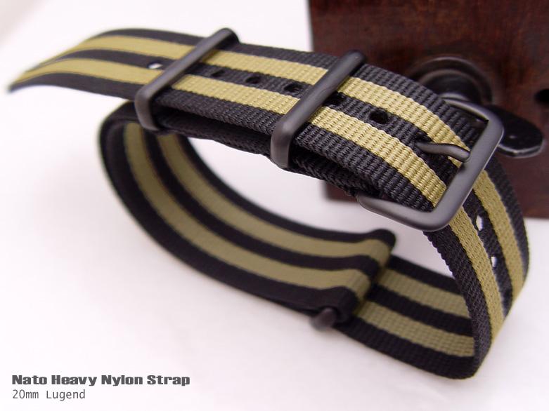 FS: NATO Ultrasonic Weld Heavy Nylon - IP Black buckle - $19.99up NATOUS-J02-20BK