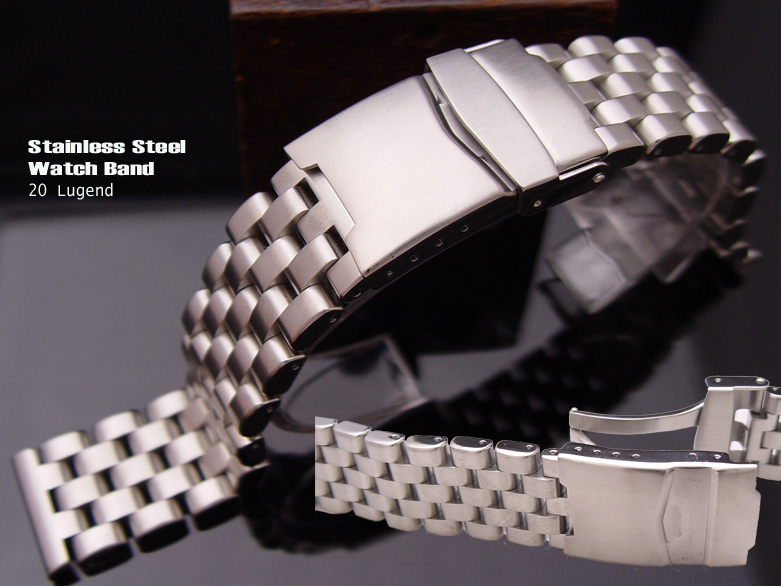 FS: 20mm,22mm-316L Solid Stainless Steel Engineer Band Design for SEIKO, $56up     TAT-SS20-009BD