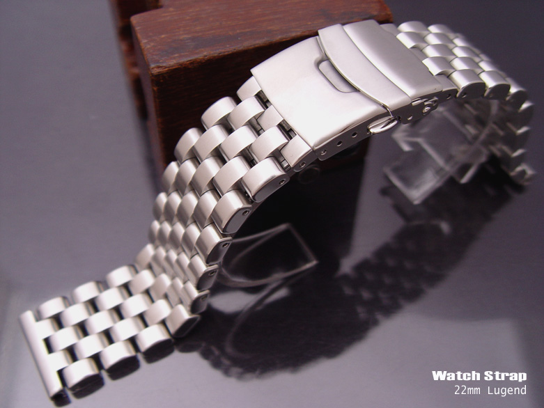 FS: 20mm,22mm-316L Solid Stainless Steel Engineer Band Design for SEIKO, $56up     TAT-SS22-009B