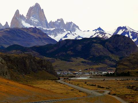 El Chalten. Santa Cruz. Argentina Llegando-chalten