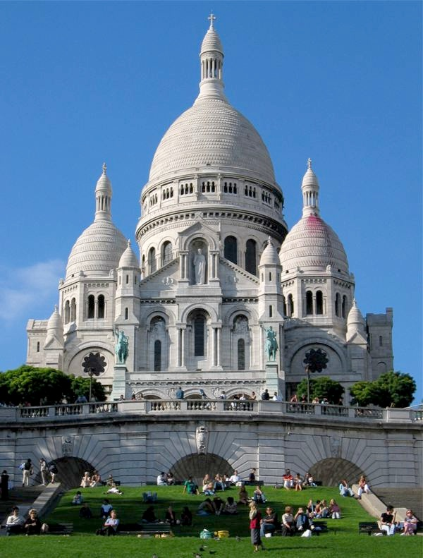 Fotografije vjerskih objekata Sacre-Coeur-Paris
