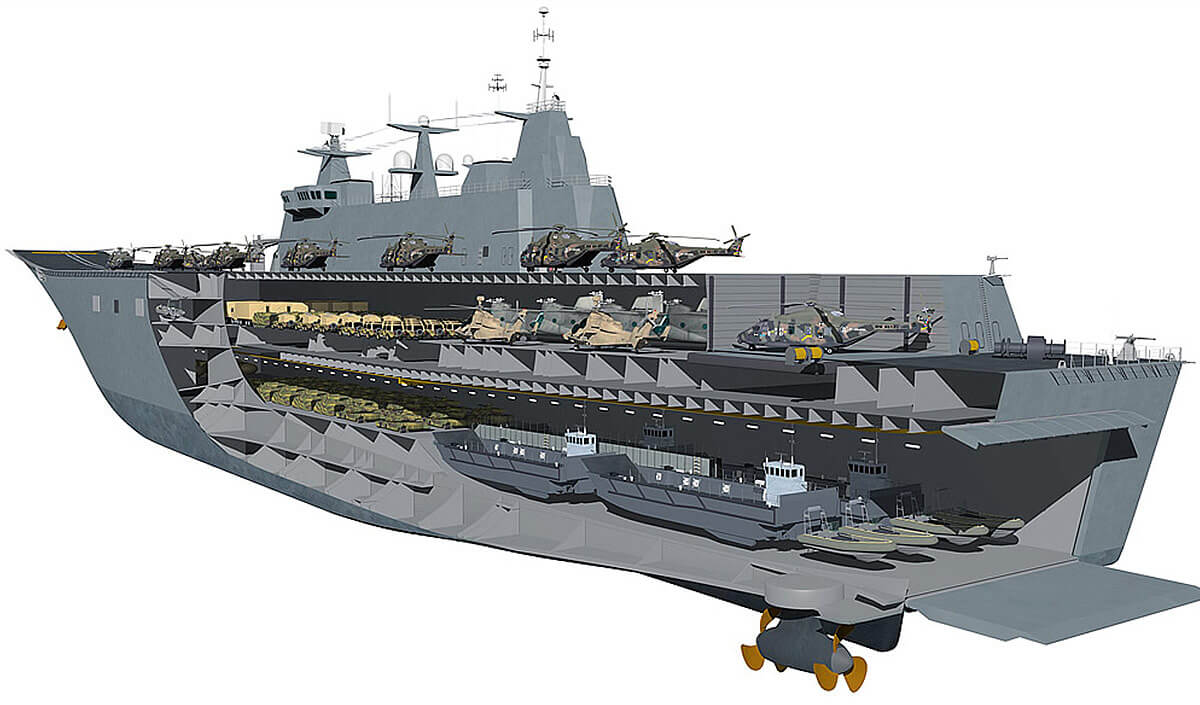 تركيا تُبدي اهتمامها بشراء حاملة طائرات HMS Ocean  من المملكة المتحدة 2_498