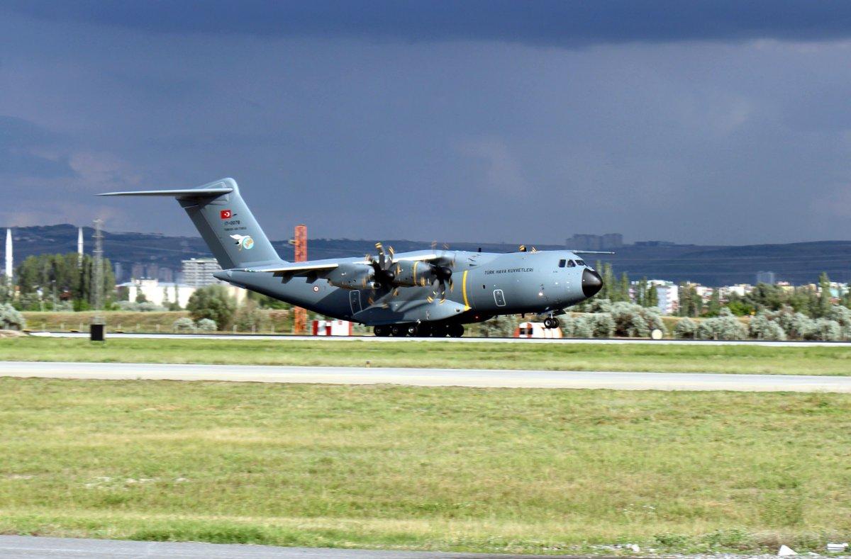 """تركيا تستلم طائرة النقل العسكرية """"A400M """" بعد أن شاركت في تصنيعها Dgrjflcw0aa1w8d"""