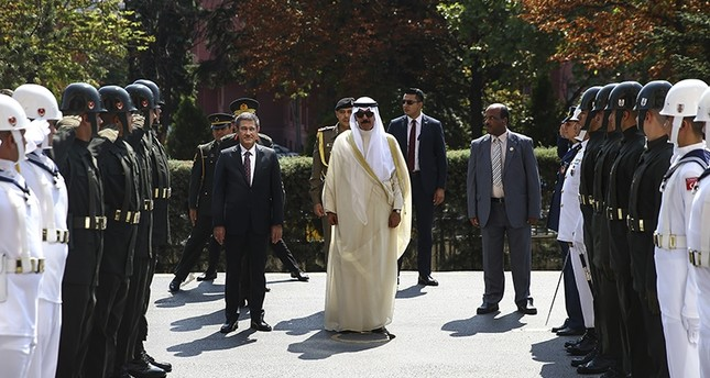 وزير الدفاع التركي يستقبل نظيره الكويتي في العاصمة أنقرة 645x344-1502966972723