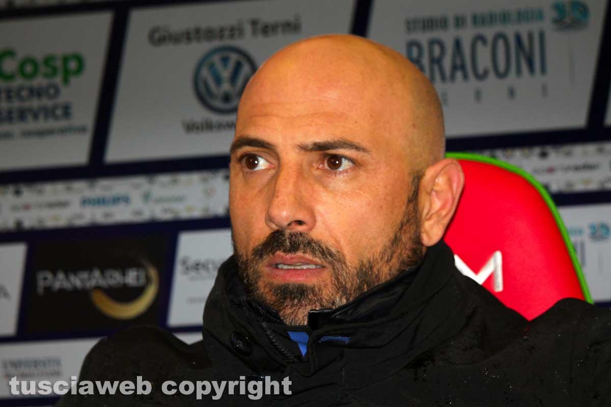 """Viterbese, Calabro: """"Manca quasi una squadra titolare ma guai a dire che non possiamo mettere in difficoltà il Bari"""" IMG_9339"""