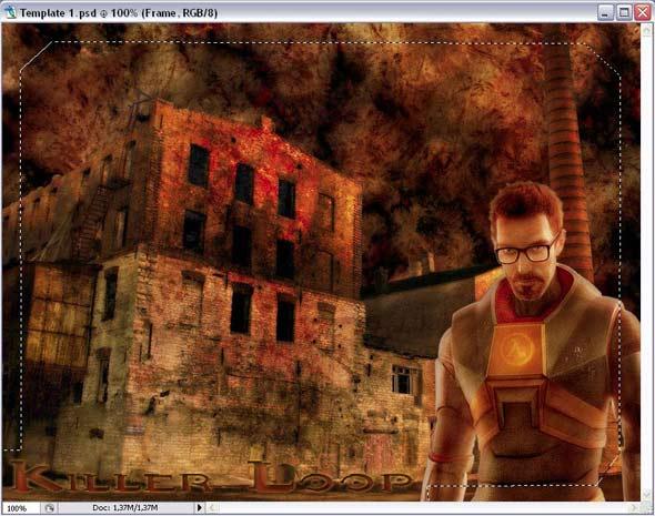 Photoshop tutorijali preuzeti s neta Photoshop-okvir3