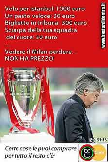 Photos anti-équipes adverses Milan-liverpool
