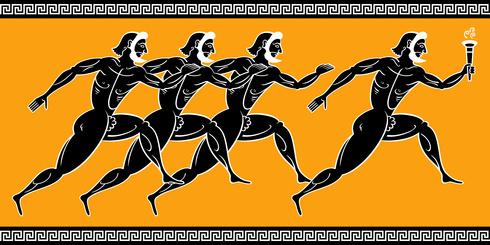 Caravaggio Atleti-grecia-antica