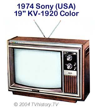 Jeux de l'image ! 1974-Sony-KV1920-19in-Color