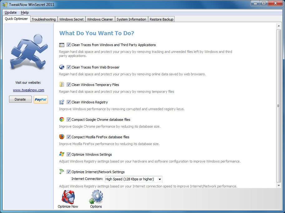 TweakNow WinSecret 2012 Ver: 4.2.1.1 WinSecret