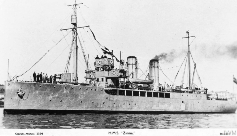 A la recherche de l'histoire du Zinnia - Page 2 Zinnia-1915
