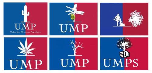 UPR Asselineau: parti politique qui dit des choses passionnantes sur l'€mpire... D5_UMP_logos
