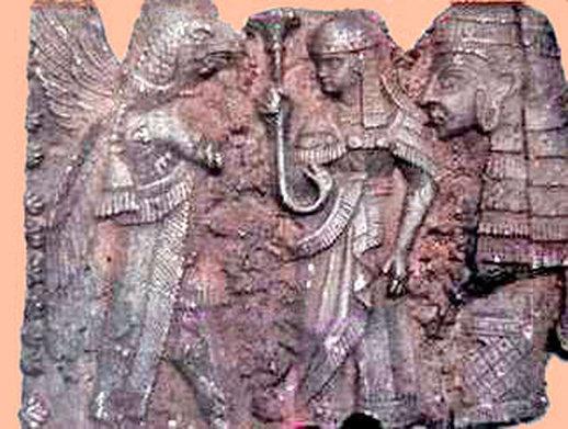 Reptilian Hybrid Sumerian Gods DNA Genetic Manipulation