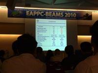 Communication au colloque international EAPPC 2010 en Corée 11102010844-200x150