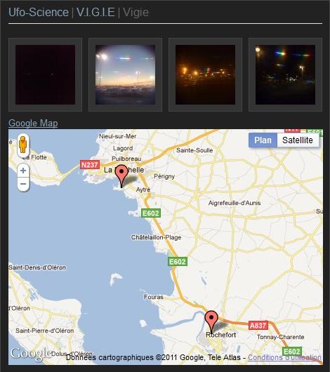 besoin de conseils pour photographier ou filmer un OVNI de nuit !  Vigie