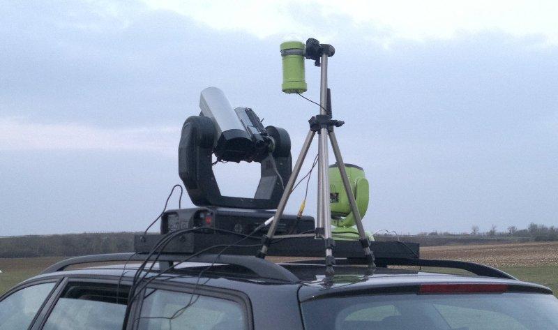 - Test en conditions réelles de la station UFOCATCH® V2 2012-03-11-091