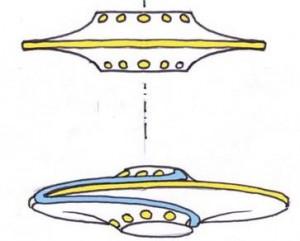 Distribution spirale du courant à la surface d'un aérodyne MHD discoïdal Disc1-300x241