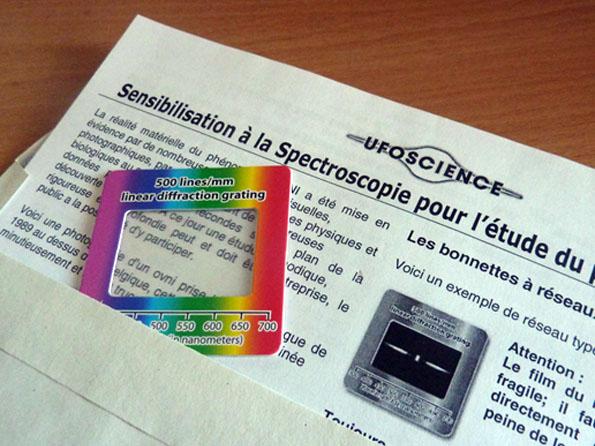 Bonnettes à réseau de diffraction - Stock renouvelé - Page 3 Ufo-science-bonnettes500