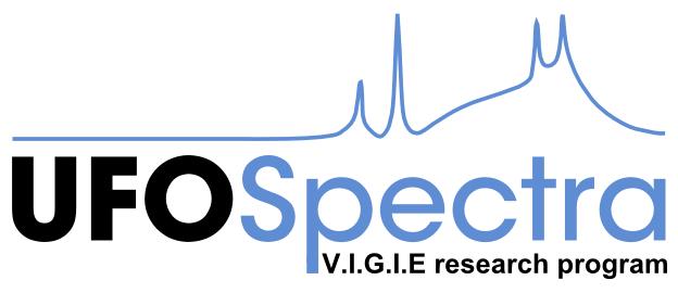 UFOSpectra V.I.G.I.E research program Ufospectra