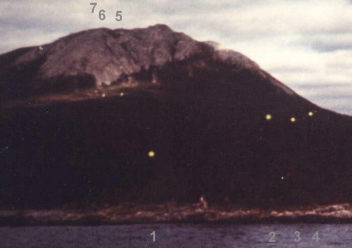 2014: le 27/02 à 6h00 - Boules oranges suite à un séisme - Vert Pré - Martinique (972) Tagishlake2