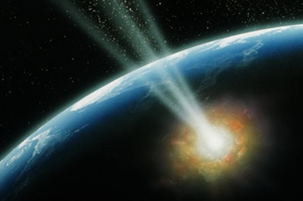 UFO Hits Earth – Whilst Strange Metal Orbs Are Falling Around Us? A42