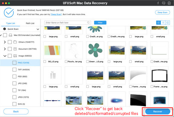 How to retrieve lost photos/videos on Sony A7R II SD Card? Photo-recovery-for-mac-sc51
