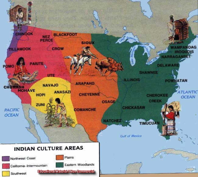 Indijanci - starosedeoci americkog kontinenta Usai2