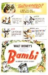 Bambi [Walt Disney - 1942] Bambi-poster