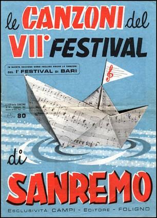 FESTIVAL DI SANREMO 1957: I CANTANTI - LE CANZONI - I TESTI P024_1_00