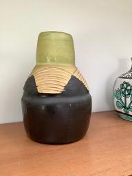 art deco vase possible marked. Art2