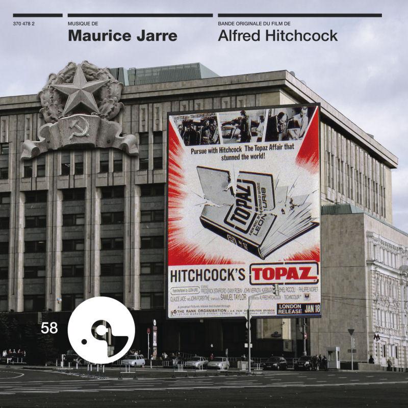 Maurice Jarre (1924-2009) Topaz-cd