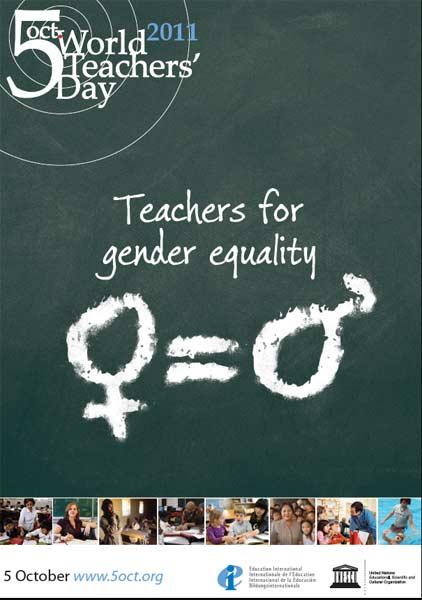 5 OTTOBRE : GIORNATA MONDIALE DEGLI INSEGNANTI Teachersdays2011