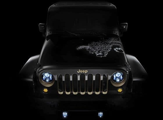 Strani fari anteriori a LED - Pagina 2 Jeep-Wrangler-Year-of-dragon-1
