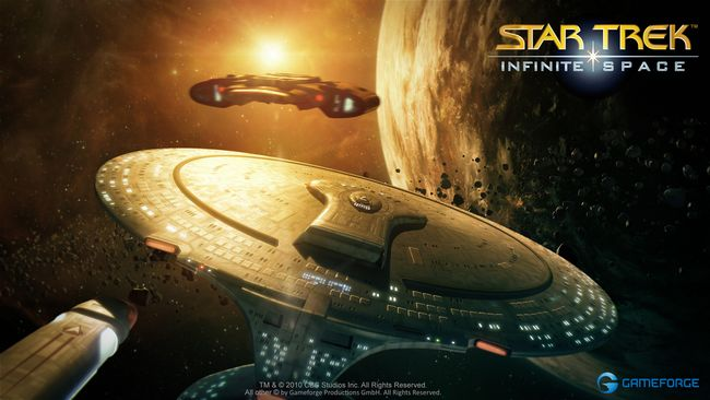 Star Trek : Infinite Space (jeu jamais sorti) Fed-ships