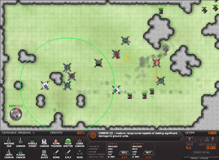 Recopilación de Juegos Tower Defense  Warzone-td