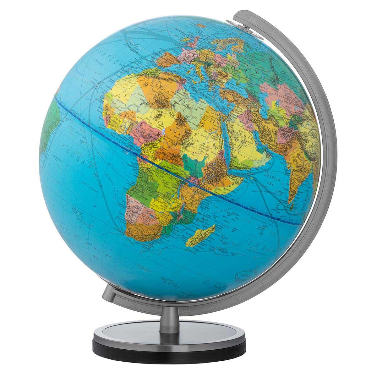 GPS moto pas cher  Globe-terrestre-columbus-duplex-avec-pied-bois-anneau-acier