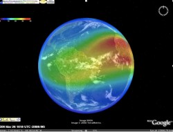 plug-in pour google earth, Ionisation atmosphère Screenshot-250x191