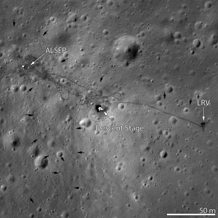 Lunar Rover. Apollo-15-1