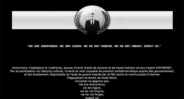 Anonymous - Renversons le gouvernement des Etats-Unis.... Anonymous