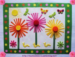 Les Saisons .bricolage_enfant_printemps_avec_materiel_de_recup_activites_pour_assisante_maternelle_et_ecole_s