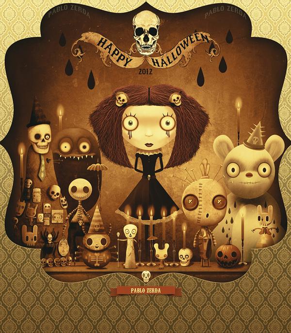 Halloween. HAPPY-HALLOWEEN-2012-FOR-PABLO-ZERDA