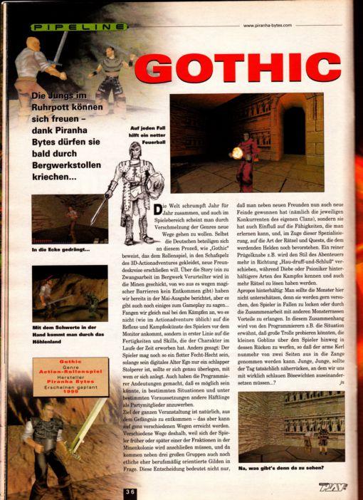 La beta de Gothic Gothic-beta-11