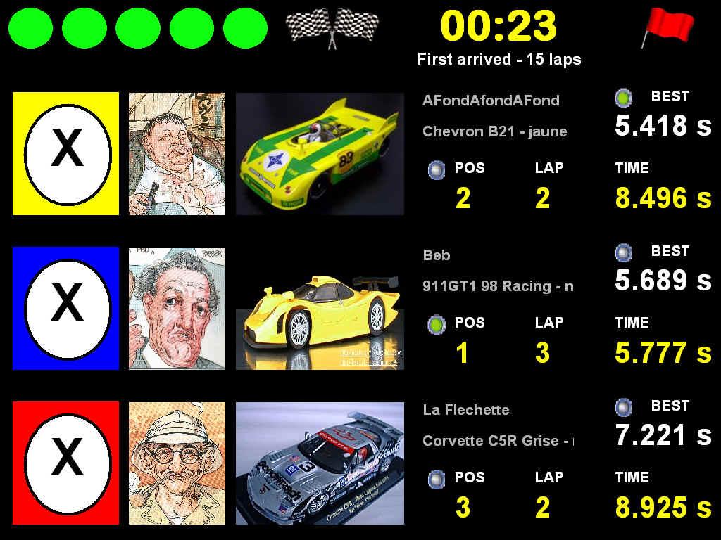 LOGICIELS EN RAPPORT AVEC LA Z. RaceMa2