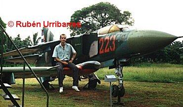 Fuerzas Armadas Revolucionarias de Cuba.  MiG23museo1-