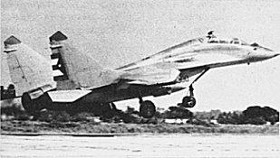 Mikoyan MiG-29 ( caza de cuarta generación  Unión Soviética) MiG29-1-
