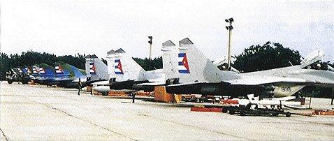 Mikoyan MiG-29 ( caza de cuarta generación  Unión Soviética) MiG29air-