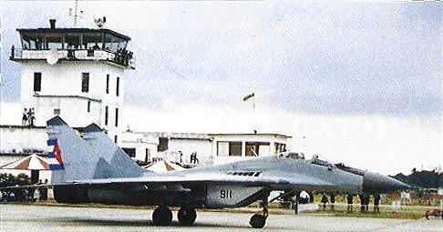Fuerzas Armadas Revolucionarias de Cuba.  MiG29air2
