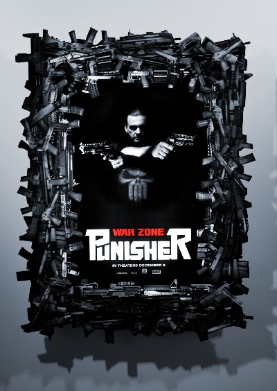 el Kao ha hecho el poster del Punisher. 20081008_punisherwarzone