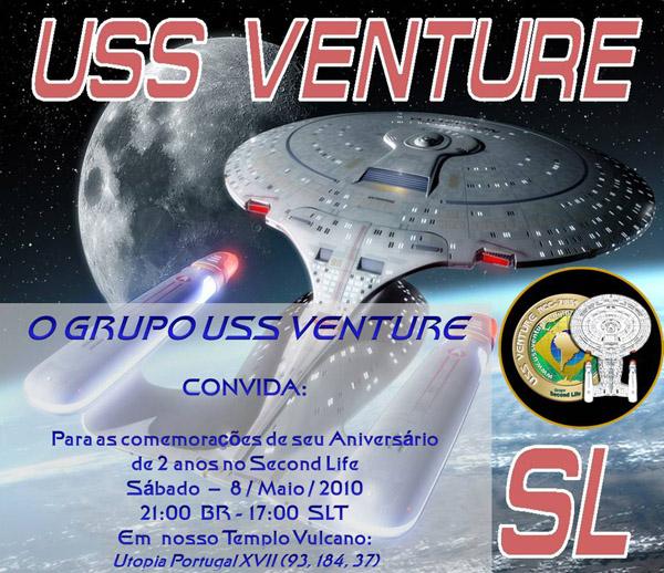 COMEMORAÇÕES DE 2 ANOS DA USS VENTURE NO SL Convite_site