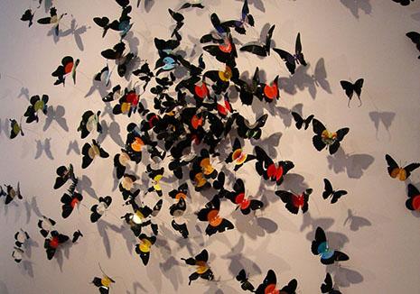 Histoire en images Paul-vilinski-installation-papillons-13